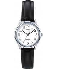 Timex T20441 Las señoras de plata negro fácil de relojes lector