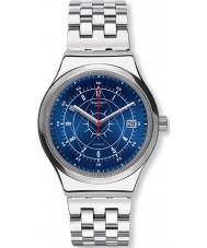 Swatch YIS401G Mens sistem plata boreal reloj de pulsera de acero