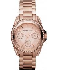 Michael Kors MK5613 Damas Blair subió reloj de oro