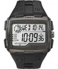 Timex TW4B02500 reloj cronógrafo negro descargas digitales para hombre de expedición