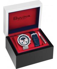 Bulova 96K101 Reloj cronógrafo c reloj regalo conjunto
