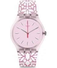 Swatch SUOP109 Reloj de mujer fleurie