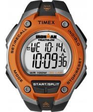 Timex T5K529 Reloj para hombre de color naranja negro Ironman de 30 vueltas deporte de gran tamaño