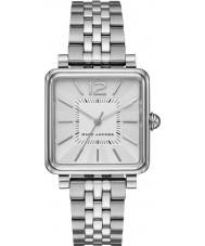 Marc Jacobs MJ3461 Las señoras de plata vic plateado reloj pulsera