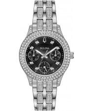 Bulova 96N110 Ladies reloj de cristal